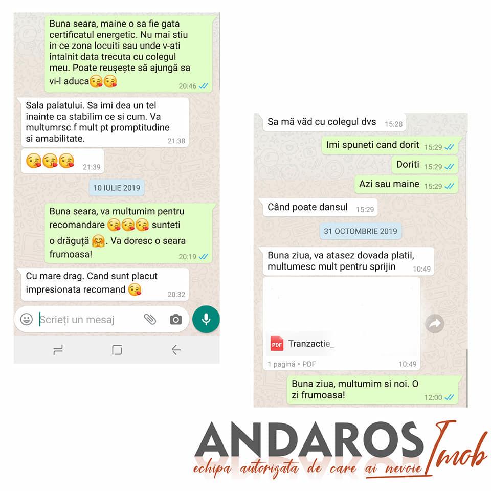 Pareri clienti Andaros Imob